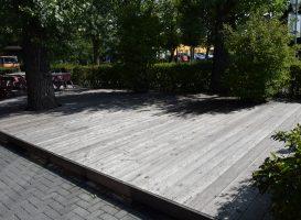 Maumedinė terasa prieš atnaujinimą
