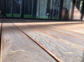 Terasa iš cumaru medienos