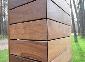Egzotinė mediena - cumaru