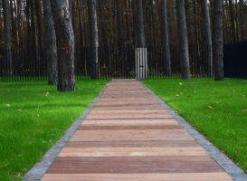 Takelis iš egzotinės medienos - Cumaru