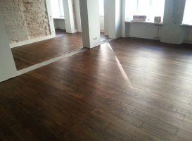 Po grindų restauravimo
