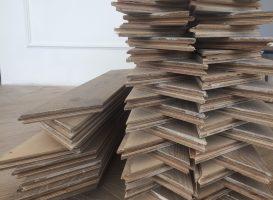 Ąžuolinės parketlentės (Chevron) 16 x 100 x 600