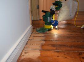 Medinių grindų šlifavimas