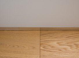 Aliumininių grindjuosčių montavimas