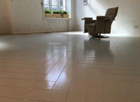 Dažytos grindys