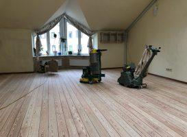 Medinių grindų šlifavimo įranga