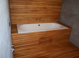 Vonios kambarys - laivo denis